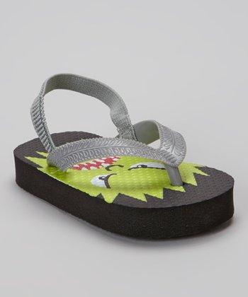 Chatties Black Monster Flip-Flop