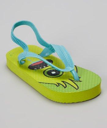 Chatties Green Monster Flip-Flop