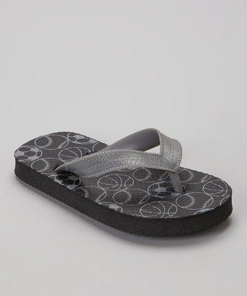 Empire Black Sports Flip-Flop