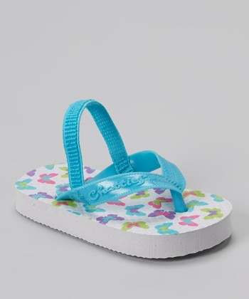 Chatties White Butterfly Sandal