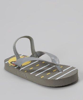 Chatties Gray Racecar Sandal
