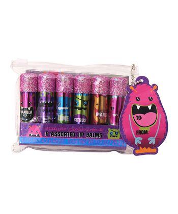 Monsters Glitter Lip Balm Set