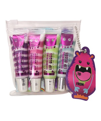 Monsters Shimmer Swirl Lip Gloss Set