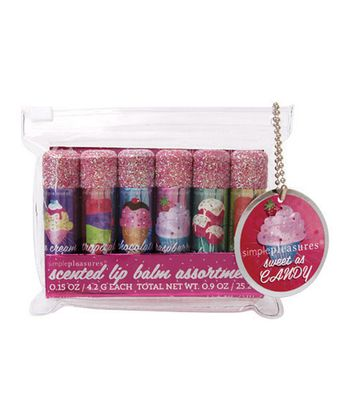 Deliciously Sweet Glitter Lip Balm Set