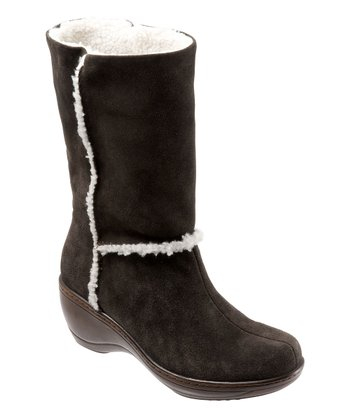 Dark Brown Suede Manistee Boot