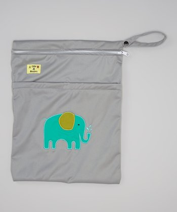 Gray Elephant Wet Bag