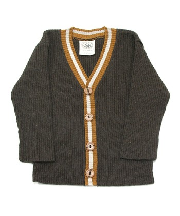 Bark Academic Ribbed Cardigan - Infant, Toddler & Boys