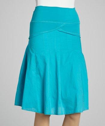 Jade Ruffle A-Line Skirt - Women