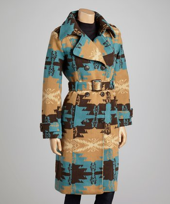 Faun Tribal Peacoat