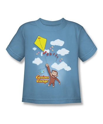 Carolina Blue 'Curious George' Kite Tee - Kids