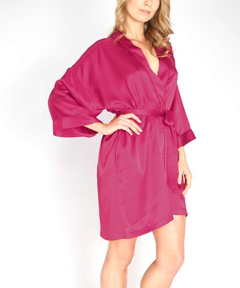 Intimo Roseberry Charmeuse Robe