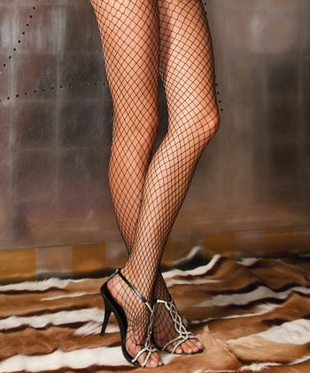 René Rofé Black Diamond-Net Tights Set - Women