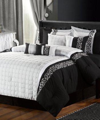 Black & White Glendale Comforter Set