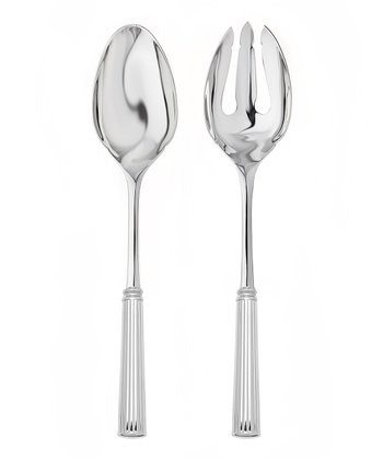 Stainless Steel Rialto Salad Serving Set