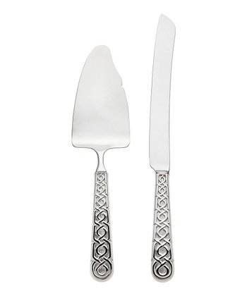 Stainless Steel Labirinto Cake Serving Set