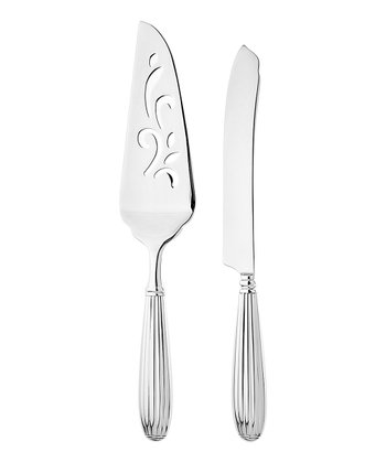 Stainless Steel Meridiani Cake Serving Set