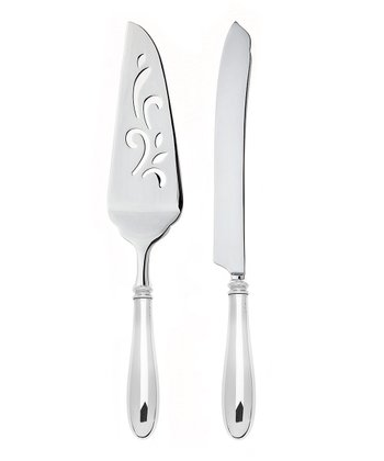 Stainless Steel Venice Cake Serving Set