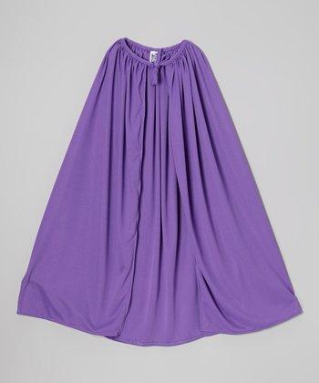 Purple Knit Cape