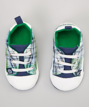 Green Plaid Sneaker