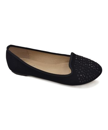 Black Stacy Flat