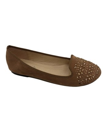 Taupe Stacy Flat