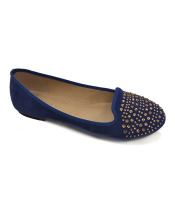 Royal Blue Stacy Flat