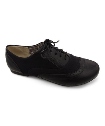 Black Texture Nikki Oxford