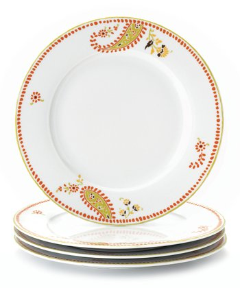 Paisley Dinner Plate - Set of Four