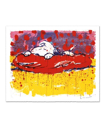 Pig Out Limited Edition Lithograph Print