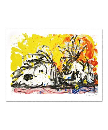 Blow Dry Limited Edition Lithograph Print