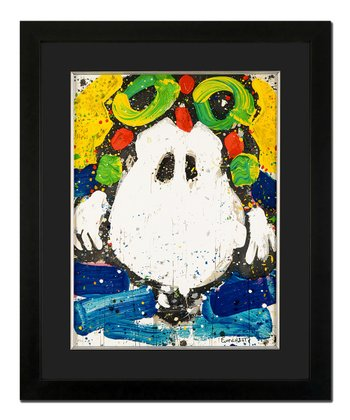 Ace Face Limited Edition Framed Lithograph Print