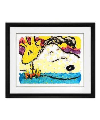Bora Bora Boogie Bored Limited Edition Framed Lithograph Print