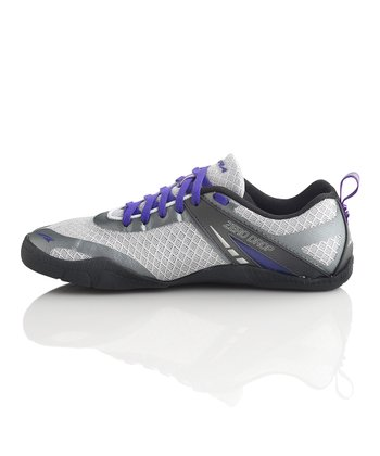Silver & Purple Delilah Running Shoe - Women