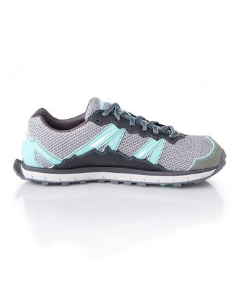 Blue & Gray Lone Peak Trail Running Shoe - Women
