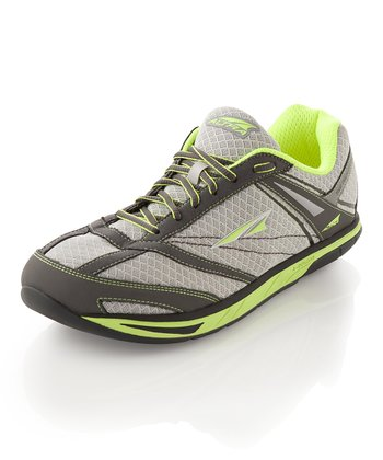 Yellow & Lime Provision Running Shoe - Men
