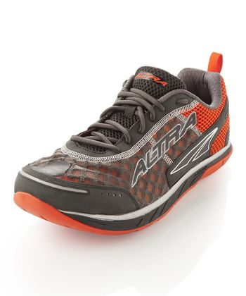 Orange & Charcoal Instinct 1.5 Running Shoe - Men