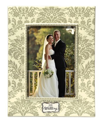 Ivory 'Our Wedding' Photo Frame