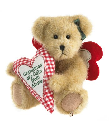 'Grandmas' Heart Plush Bear