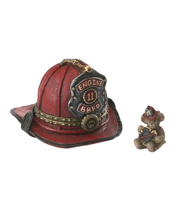 Fireman Hat Treasure Box