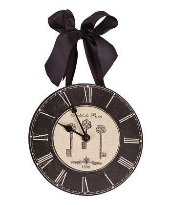 'Hotel de Paris' Ribbon Clock