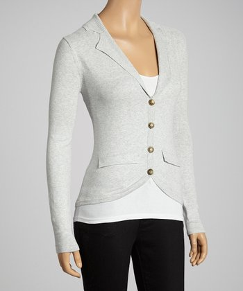 Pebble Gray Blazer