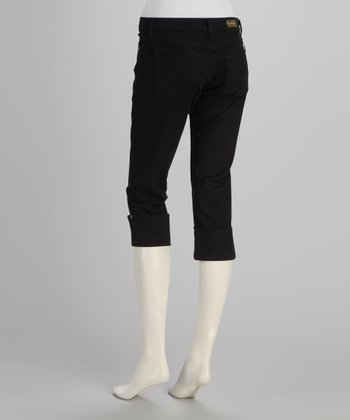 Black Lana Capri Pants