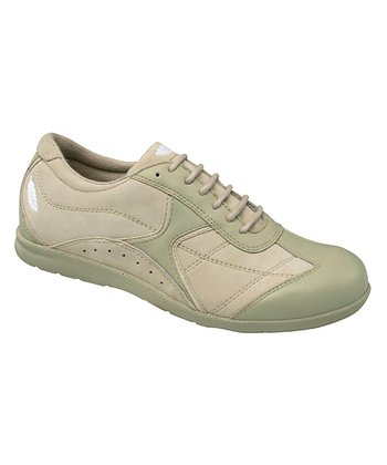 Sand & Green Elite Sneaker - Women