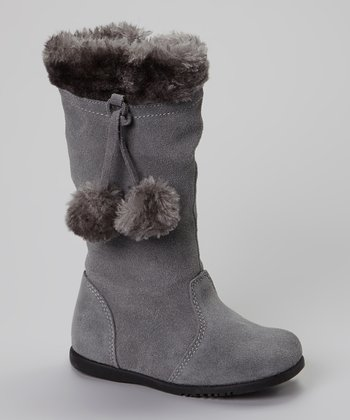 Gray Ella Boot