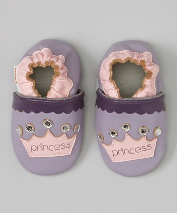 Purple & Pink 'Princess' Bootie