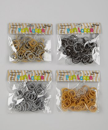 Silver & Gold Fun Loop Kit Set