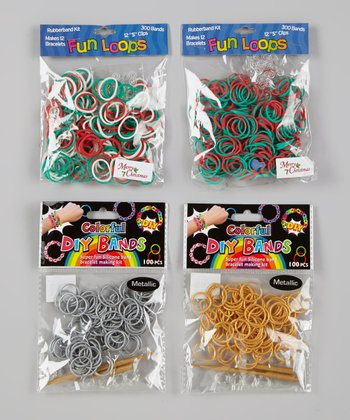 Red & Green Fun Loop & DIY Band Kit Set