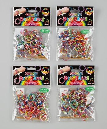 Primary Tie-Dye DIY Bands Kit - Set of Four