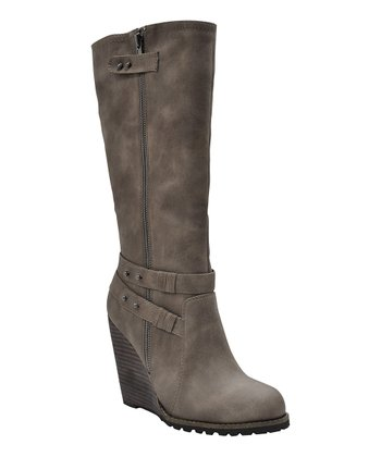 Taupe Kearney Wedge Boot