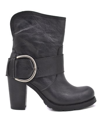 Black Viking Bootie